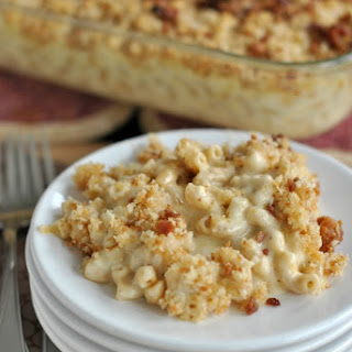Gouda Bacon Macaroni and Cheese.
