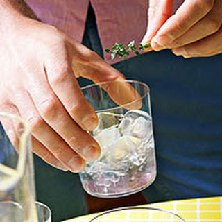 Thyme's-Up Cocktails.