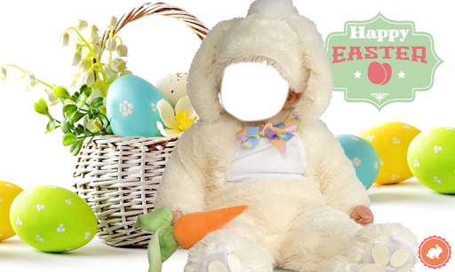 Easter Baby Frame Montage