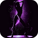 Dancing Girl Live Wallpaper icon