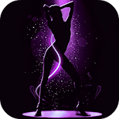 Dancing Girl Live Wallpaper