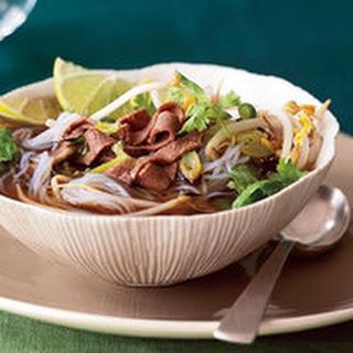 Beef Rice-Noodle Soup.