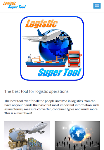 Logistic Super Tool