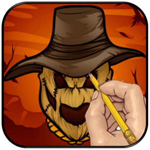 Halloween Drawing Step By Step LOGO-APP點子