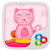 Cooking cat GO LAUNCHER THEME