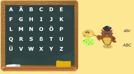 Deutsches Alphabet Screenshot 4