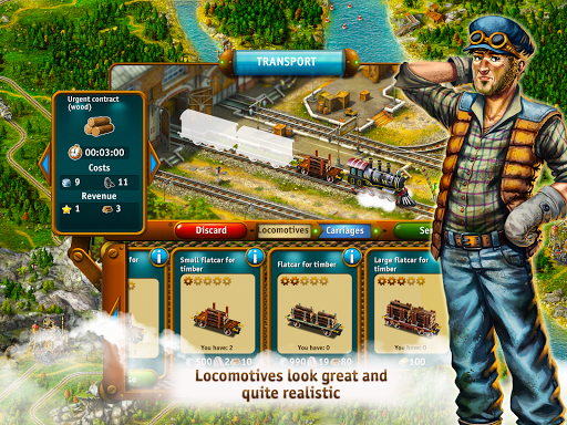 Transport Empire: Steam Tycoon  screenshots 3