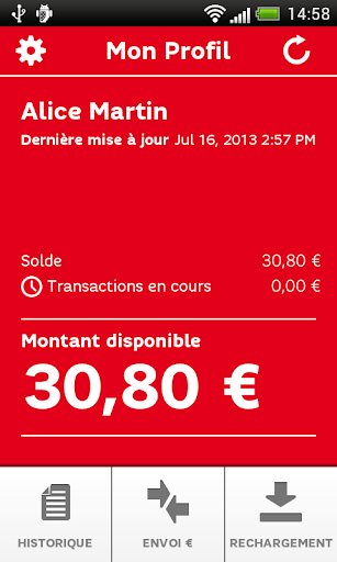 SFR PayCard