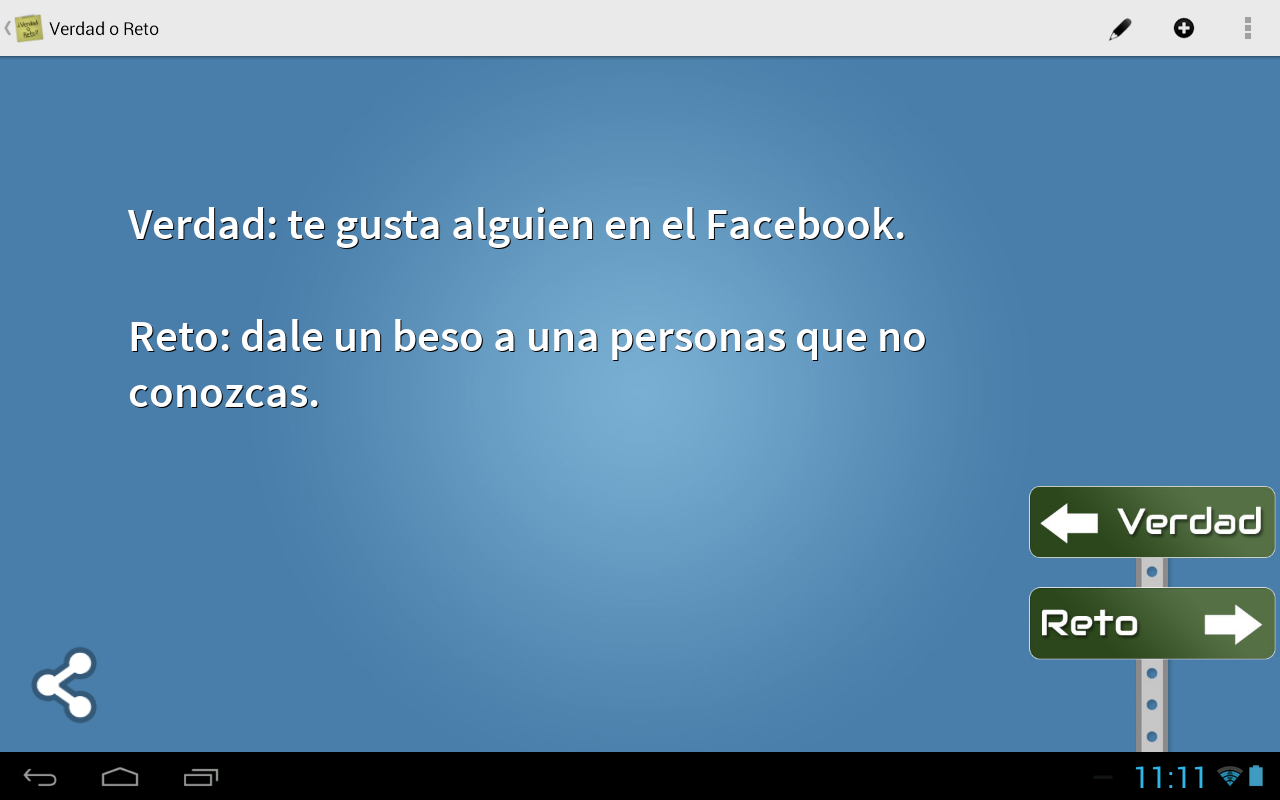 Truth Or Challenge Spanish Android Apps On Google Play