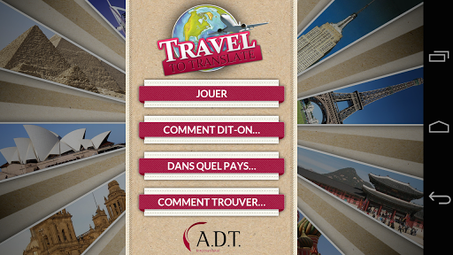 Travel to Translate - ADT