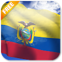 3D Ecuador Flag Live Wallpaper