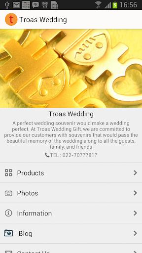 Troas Wedding