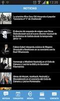 Screenshot of Orquesta Sinfónica de Galicia