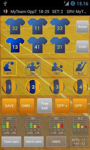 Ultimate Volley Stats Lite