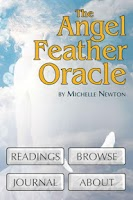 Screenshot of Angel Feather Oracle Cards