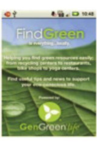 Find Green - screenshot