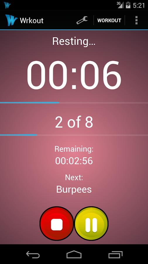 Wrkout HIIT (Tabata, Timer) - screenshot