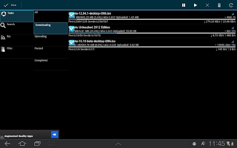 aDownloader - torrent download v1.6.0