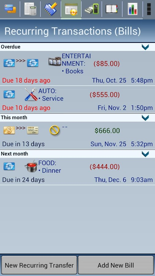 Spensa Pro. Expense Tracker - screenshot