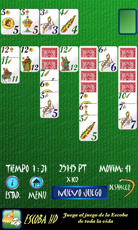 Solitario Español- screenshot