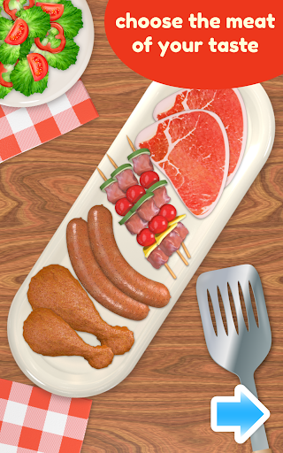 BBQ Grill Maker - Cooking Game  screenshots 8