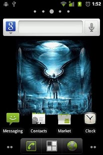 Dark Angel 3D Live Wallpaper - screenshot thumbnail