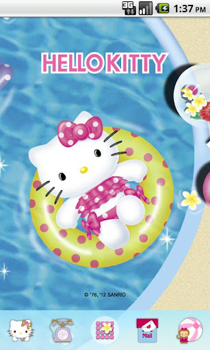 Hello Kitty ByThePool Theme