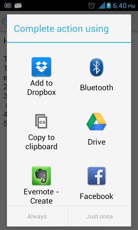 Speechsynthesis data installer android