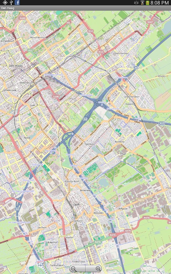 Toulouse Street Map - screenshot