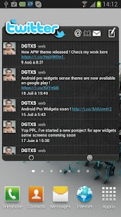 APW HTC Sense 4.0 Dark Theme - screenshot thumbnail