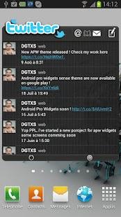 APW HTC Sense 4.0 Dark Theme- screenshot thumbnail