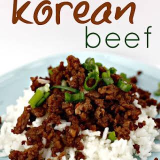 Korean Beef.