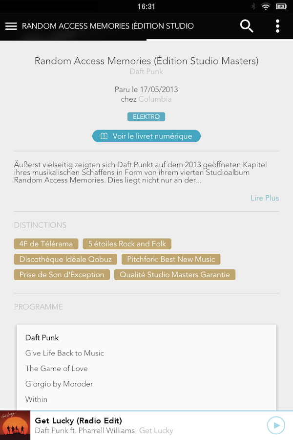 Qobuz Music - Aplicaciones Android en Google Play