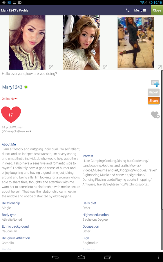 Call & Dating Pro ♥ DROIDMSG - screenshot