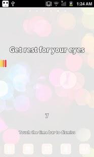 眼睛休息提醒
