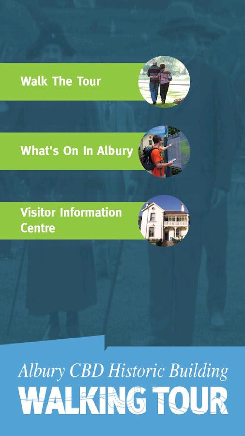 Albury Historic Walking Tour - screenshot