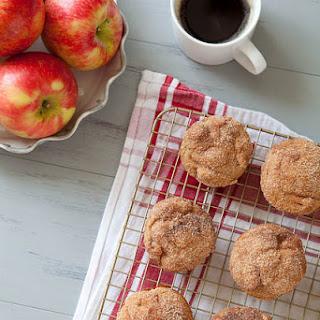 Cinnamon Sugar Apple Doughnut Muffins