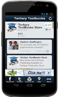 Tertiary Textbooks Store - screenshot thumbnail
