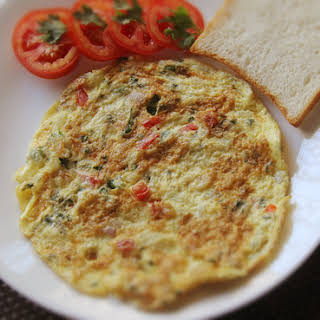 Indian Masala Omelet.