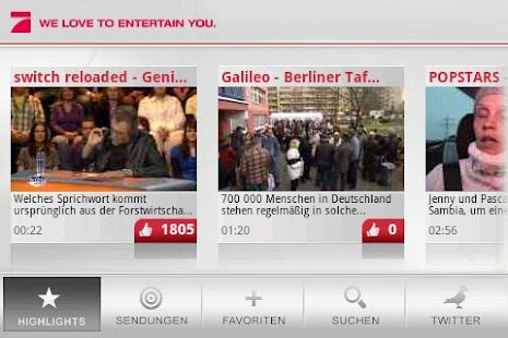 ProSieben - screenshot thumbnail