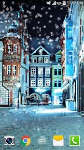 Snow Night Live Wallpaper HD 7