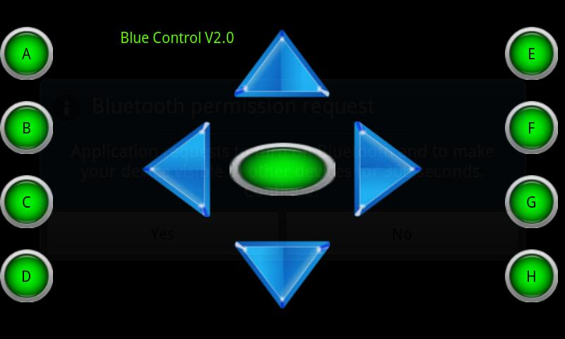 Blue Control- screenshot