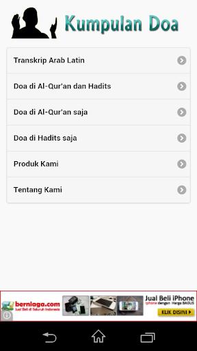 Doa-Doa di Al-Qur'an Hadits