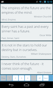 The Quote's place - Quotery - screenshot thumbnail