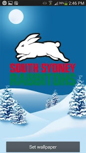 South Sydney Rabbitohs Snow- screenshot thumbnail