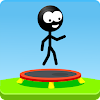 Trampoline Man (Stickman Game)
