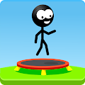 Trampoline Man (Stickman Game) APK