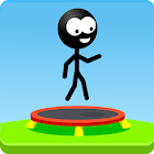 Trampoline Man (Stickman Game) icon