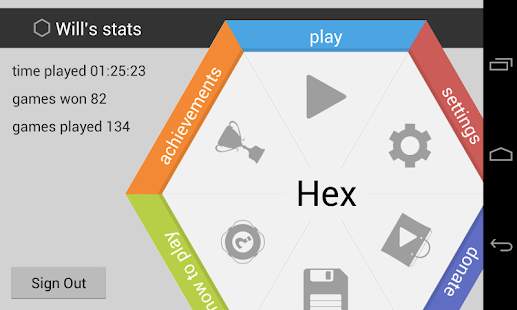 Hex- screenshot thumbnail