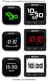 Custom Watch for SmartWatch